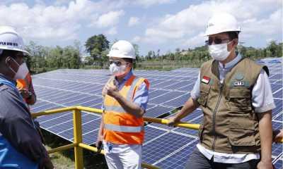 Tinjau PLTS Sengkol, Menteri PPN: Perkembangan Energi Bersih Semakin Menjanjikan