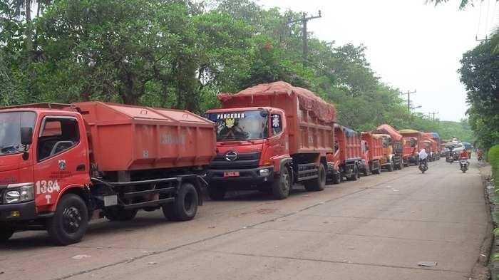 Waduh! Sampah Jakarta Saat Lebaran Pertama Dikirim ke Bantargebang Capai 2 Ton