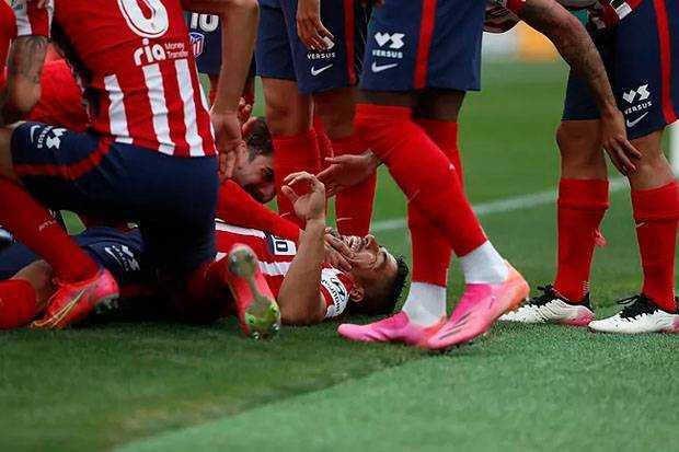 Atletico Madrid menjuarai La Liga 2020/2021 Usai Taklukkan Real Valladolid