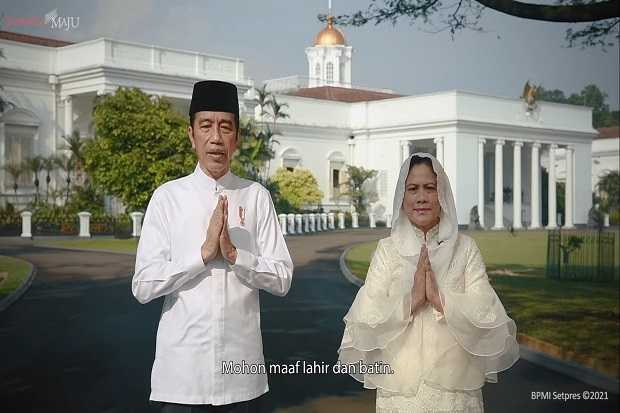 Presiden Jokowi Akui Silaturahmi Tak Langsung saat Lebaran Sangatlah Berat