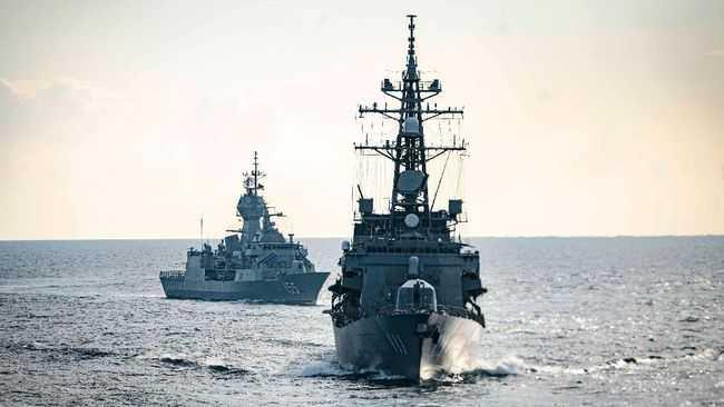 Angkatan Laut China Kirim 3 Kapal Salvage ke Indonesia Untuk Bantu Evakuasi KRI Nanggala