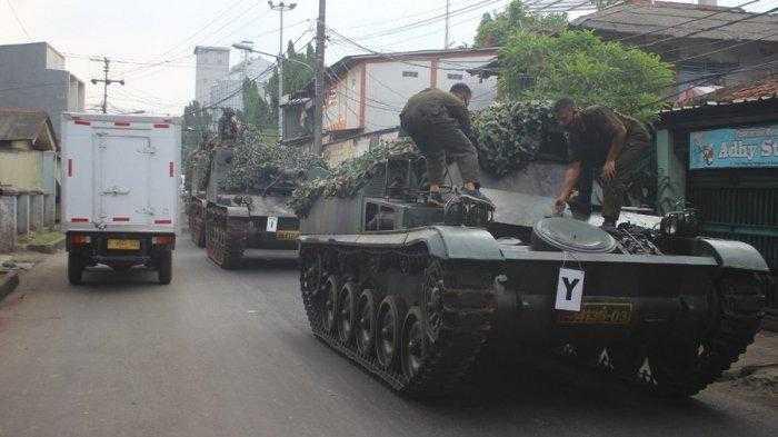Penyekatan Mudik dengan Tank TNI Ternyata Hoaks