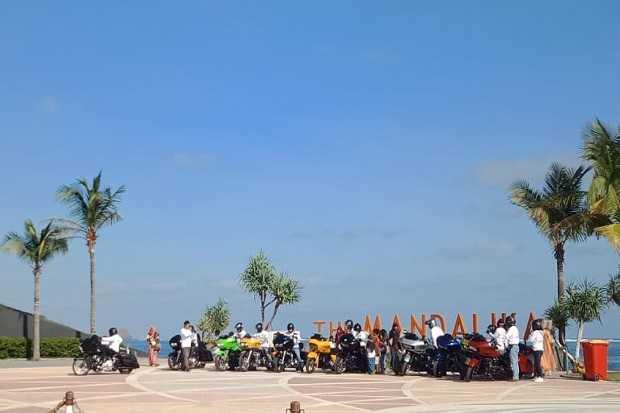Viral, Saat Penyekatan Malah Rombongan Harley Davidson Asyik Tamasya di Lombok Tanpa Ada Pemeriksaan