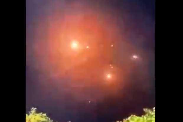 Viral, Video Sistem Iron Dome Israel Kewalahan Hadapi Roket dari Pasukan Hamas di Gaza