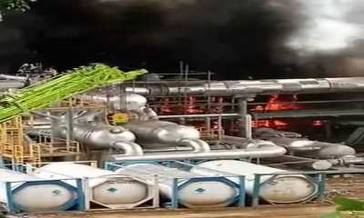 Warga Madina Panik Lari Berhamburan Saat Kobaran Api Membakar Tambang Panas Bumi