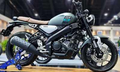 2021, Yamaha XSR 155 Dapat Baju Baru