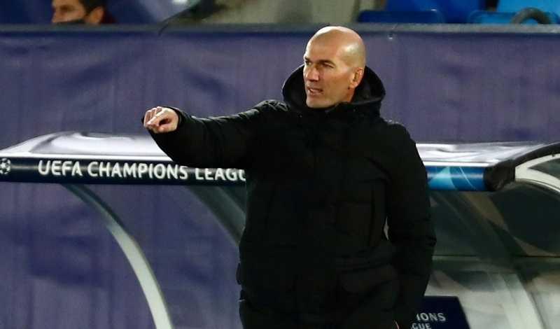 Zidane Minta Pemainnya Tampil All Out Lawan Chelsea