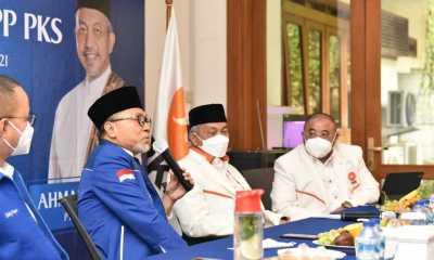 Zulhas Sampaikan Kegelisahan Disharmoni Demokrasi Indonesia ke Pimpinan PKS