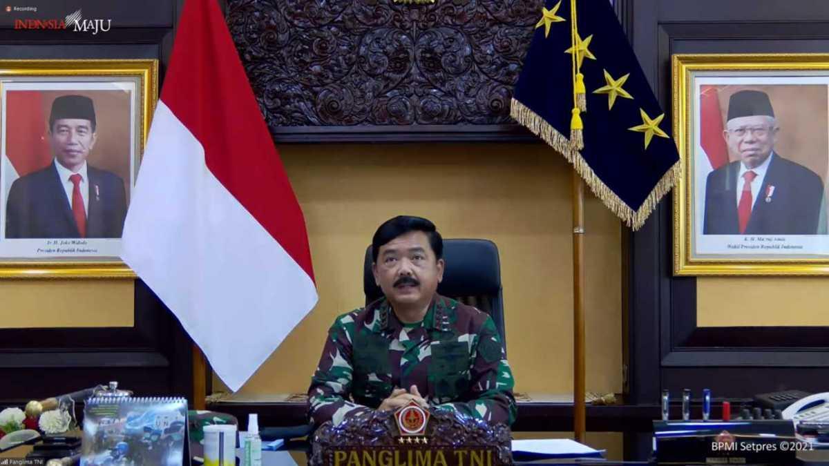 Panglima TNI Hadi Tjahjanto Dukung PPKM dengan Penguatan 4 Pilar