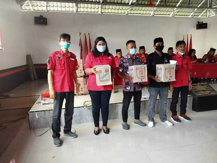 Plt Walikota Hadiri Peringatan Harlah Pancasila di DPC PDI Perjuangan Tanjungbalai