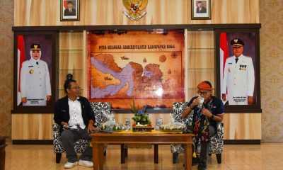 Gubernur NTB Ajukan Pengembangan Geopark Tambora ke Menparekraf. Bang Sandi: Kami Siap Support