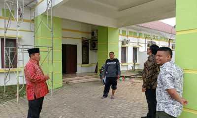Plt. Wali Kota H Waris Thalib Tinjau Mess Pemko Tanjungbalai di Medan