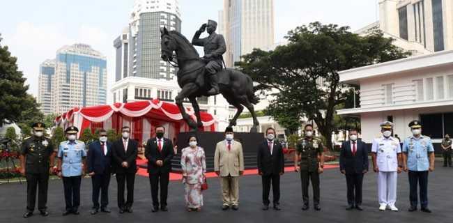 Prabowo Resmikan Patung Bung Karno, Megawati: Ini Menjadi Simbol Semangat Bangsa