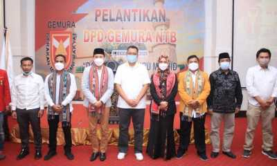 Hadiri Pelantikan Pengurus DPD Gemura NTB, Gubernur: Pemuda harus buat perubahan