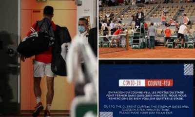 5.000 Fans Ngamuk Diusir gara-gara Jam Malam saat Novak Djokovic Ke Semifinal