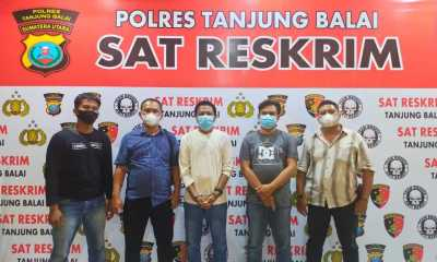 Tega Menipu Teman, Agus Salim Lubis Diamankan Tekab Sat Reskrim Polres Tanjungbalai