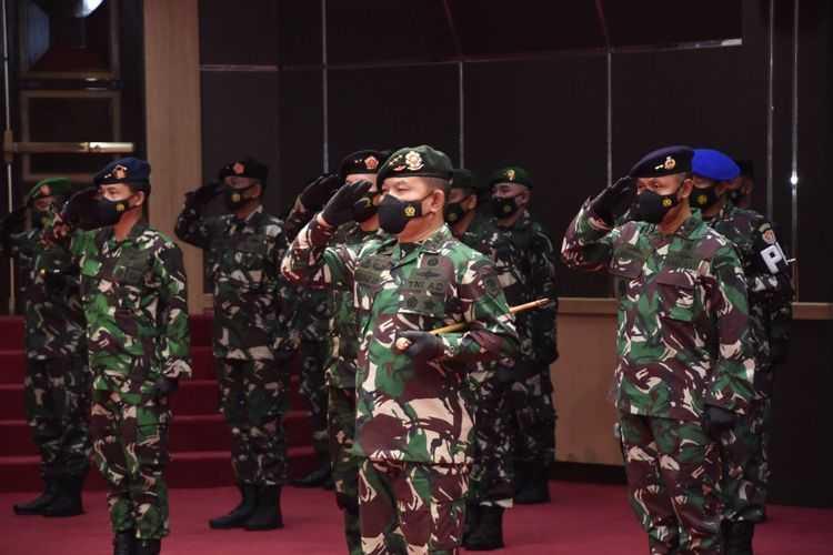 30 PATI TNI Naik Pangkat, Dudung Resmi Jendral Bintang Tiga