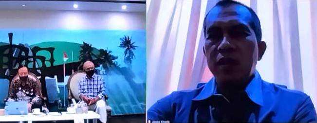Abdul Kharis Benarkan Ruangan Rapat Komisi I di Lockdown AbiatAnggota Ada Yang Positif Covid