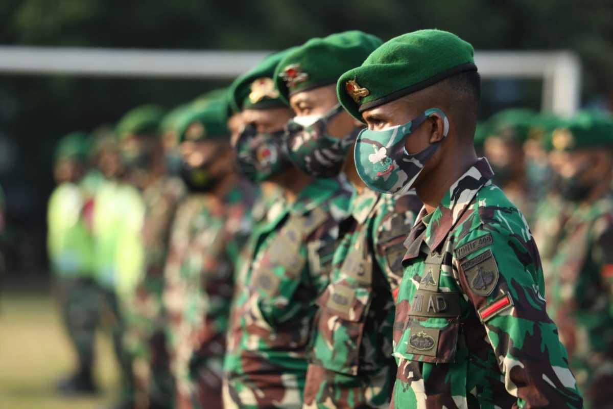 TNI/Polri Dikerahkan Untuk PPKM Mikro Pekalongan
