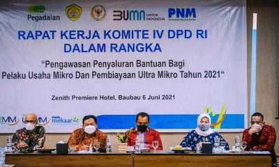 Komite IV DPD RI Dorong Stakeholder Di Kota Baubau Berkontribusi Maksimal dalam Pemberdayaan Pembiayaan Ultra Mikro