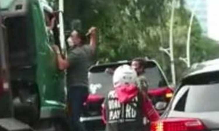 Aniaya Sopir Truk di Jakarta Utara, Pengemudi Pajero Ditangkap di Jatim