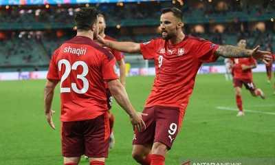 Bungkam Turki 3-1, Swiss Finis di Peringkat Ketiga Grup A