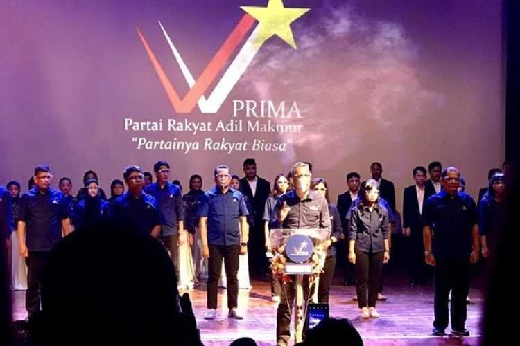 Klaim Miliki Perwakilan di 34 Provinsi, Partai PRIMA Belum Data Jumlah Anggota