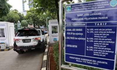 Dishub DKI Tegaskan Tarif Parkir Maksimal Kendaraan Masih Sebatas Usulan