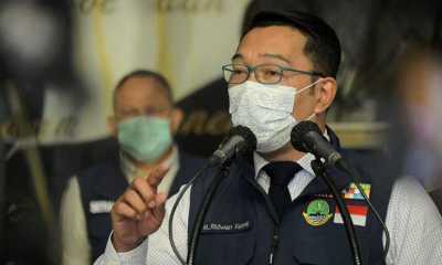 Kata Kang Emil, Kota dan Kabupaten Bandung Masuk Zona Merah Covid