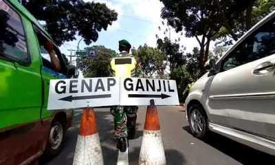 Hari Kedua Ganjil-genap di Kota Bogor, 4.476 Kendaraan Diputarbalik