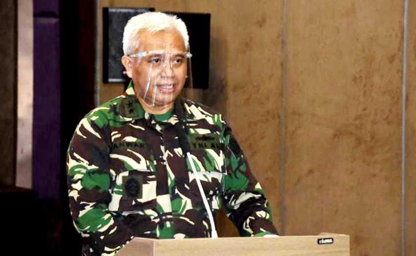 Panglima TNI Tunjuk Laksda Anwar Saadi sebagai JAMPidmil Pertama di Kejagung