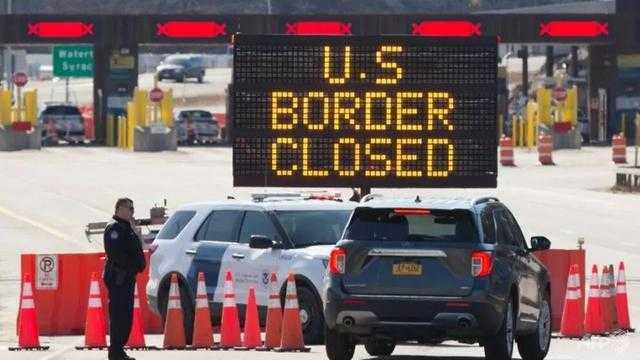 Kasus Covid-19 Melonjak, AS Tutup Perbatasan Darat dengan Kanada dan Meksiko