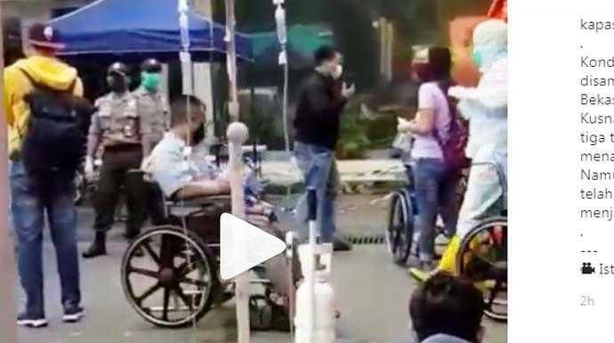 Viral Video Pasien di Rawat di Area Terbuka, Dirut RSUD Kota Bekasi : Lonjakan Terjadi Pasien Di Periksa Awal Di Tenda