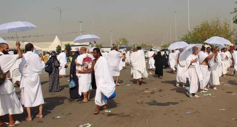 Arab Saudi Saat Mengalami Gelombang Panas Dengan Suhu Mencapai 48 Derajat Celcius