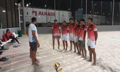 Kualifikasi Menuju Tokyo, Timnas Voli Pantai Siap Berlaga di Thailand