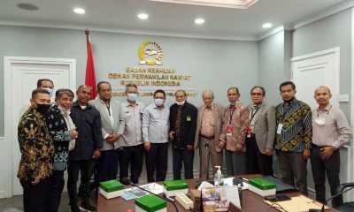 KP3S Temui Badan Keahlian DPR RI Membahas Pemekaran Provinsi Pulau Sumbawa