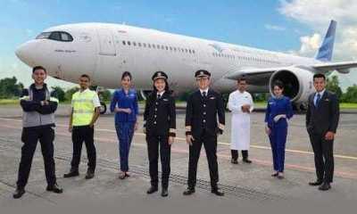 Keuangan Garuda Kritis, Karyawan dan Pilot Garuda Pasrah Gajinya Di Potong