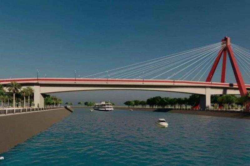 Menterian PUPR argetkan Jembatan Aek Tano Ponggol Rampung di Tahun 2022