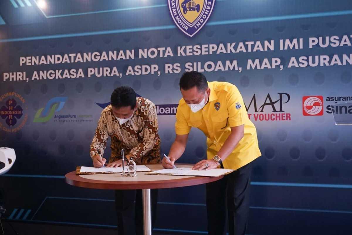 IMI Tanda Tangan Kerjasama dengan Perhimpunan Hotel dan Restoran Indonesia