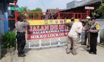 24 Warga Positif Covid, Perumahan Vila Mutiara Gading Terpaksa Ditutup