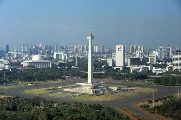 Siang Ini Cuaca Jakarta Cerah Berawan, Malam Harinya Hujan Ringan