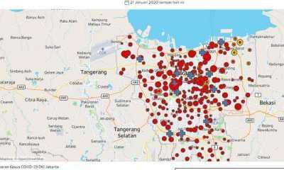 Kasus Covid-19 di Jakarta Bertambah 5.014, Angka Kematian Catat Rekor Baru