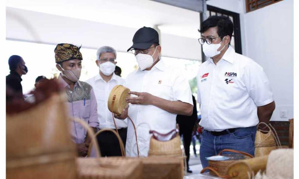 Sambut MotoGP Mandalika Lombok, UMKM NTB Terus Digenjot