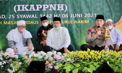 Kapolda NTB Sanjungi Penerapan Prokes Covid 19 Pada Agenda Halal Bi Halal IKAPPNH