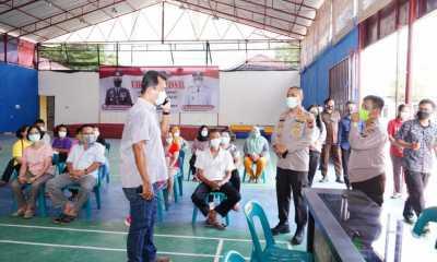 Fasilitasi Vaksin Massal Bersama Pemko, Polres Tanjungbalai Targetkan 7.000 Orang