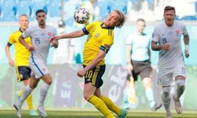 Menang Tipis Dari Slovakia, Swedia Amankan Satu Kaki di Babak 16 Besar Euro 2020