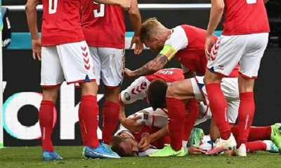 Eriksen Tiba-tiba Pingsan, Laga Denmark vs Finlandia Dihentikan