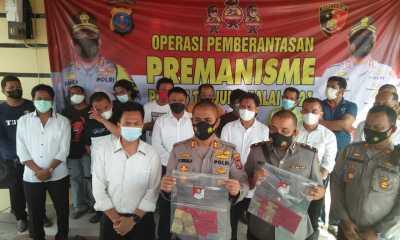 Dalam 4 Hari, Polres Tanjungbalai Amankan 13 Orang Pelaku Premanisme dan Pungli