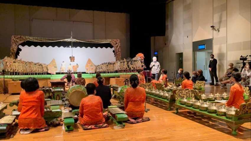 Dubes Heri Akhmadi Apresiasi Pentas Gamelan Jawa Asal Jepang