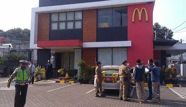 12 Gerai McDonald's Didenda Rp500 Ribu oleh Pemkot Bandung